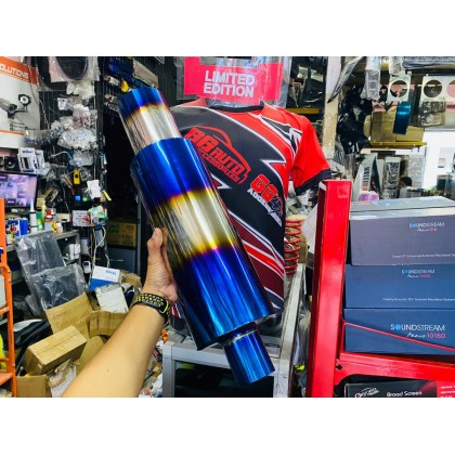 HKS Muffler Titanium Ready Stock Sabah